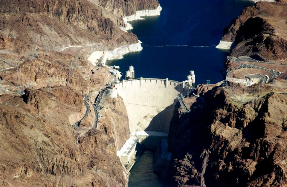 Tablou  Barajul Hoover