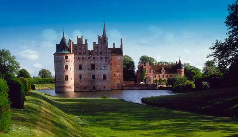 Tablou Castel Danemarca