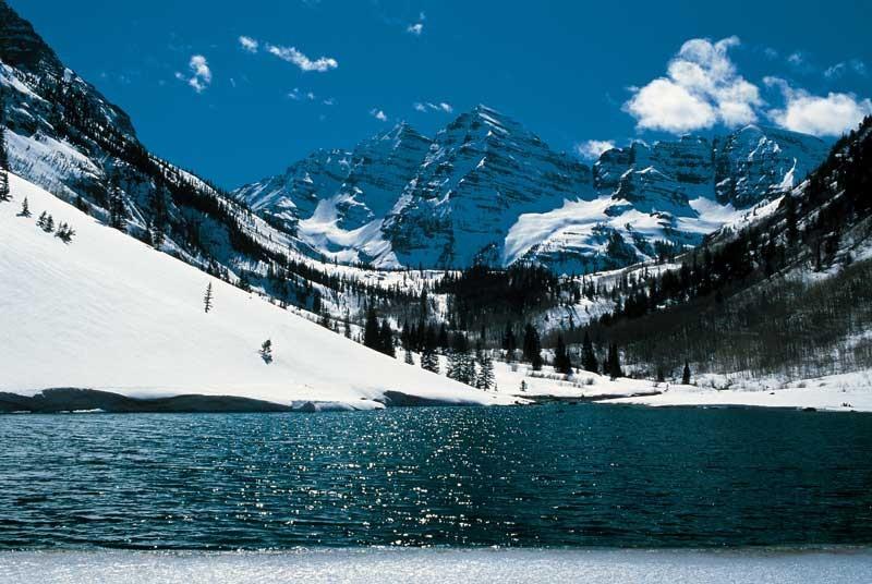 Tablou Iarna la Munte