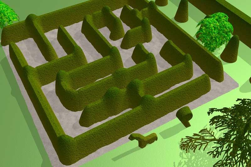 Tablou Labirint