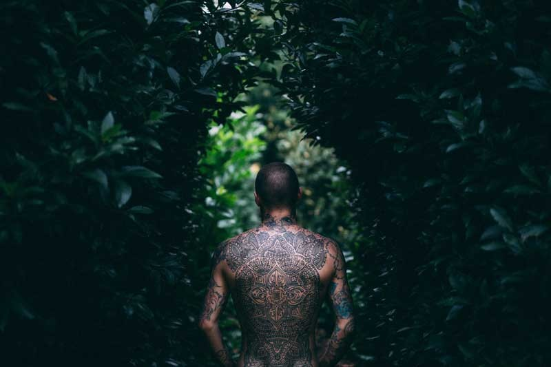 Tablou Tatuaj Tribal
