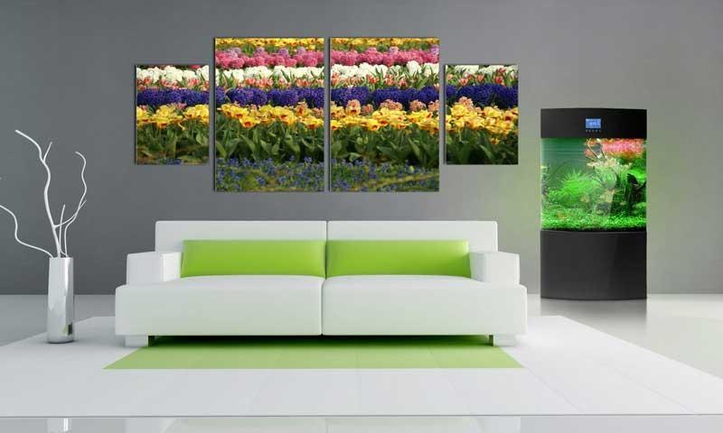 Tablou Multicanvas Flori