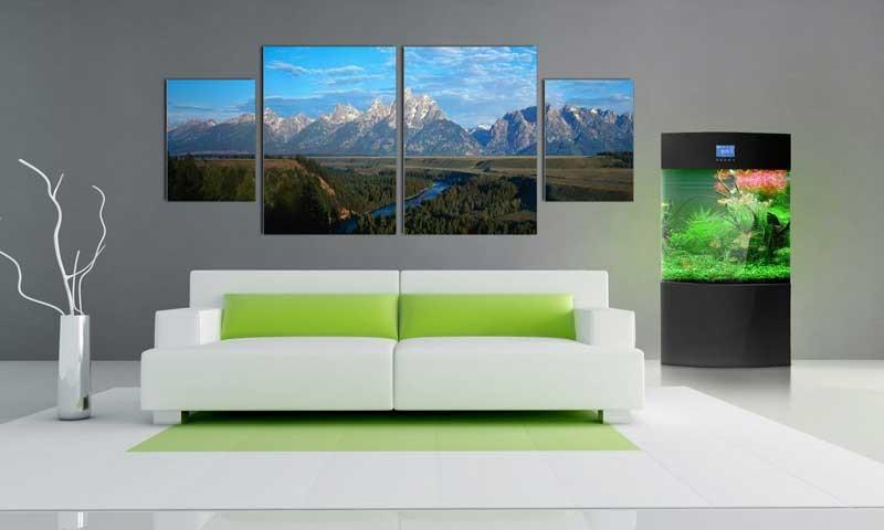 Tablou Multicanvas Peisaj Montan