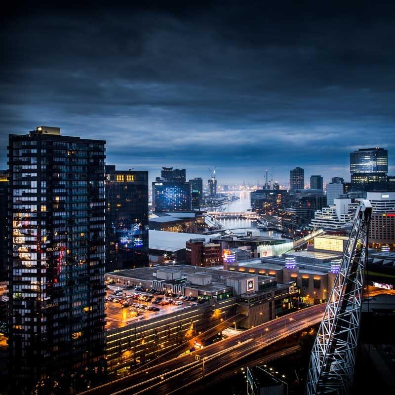 Tablou Noaptea in Bangkok