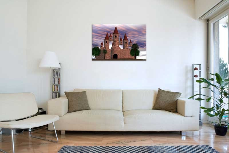Tablou Castel