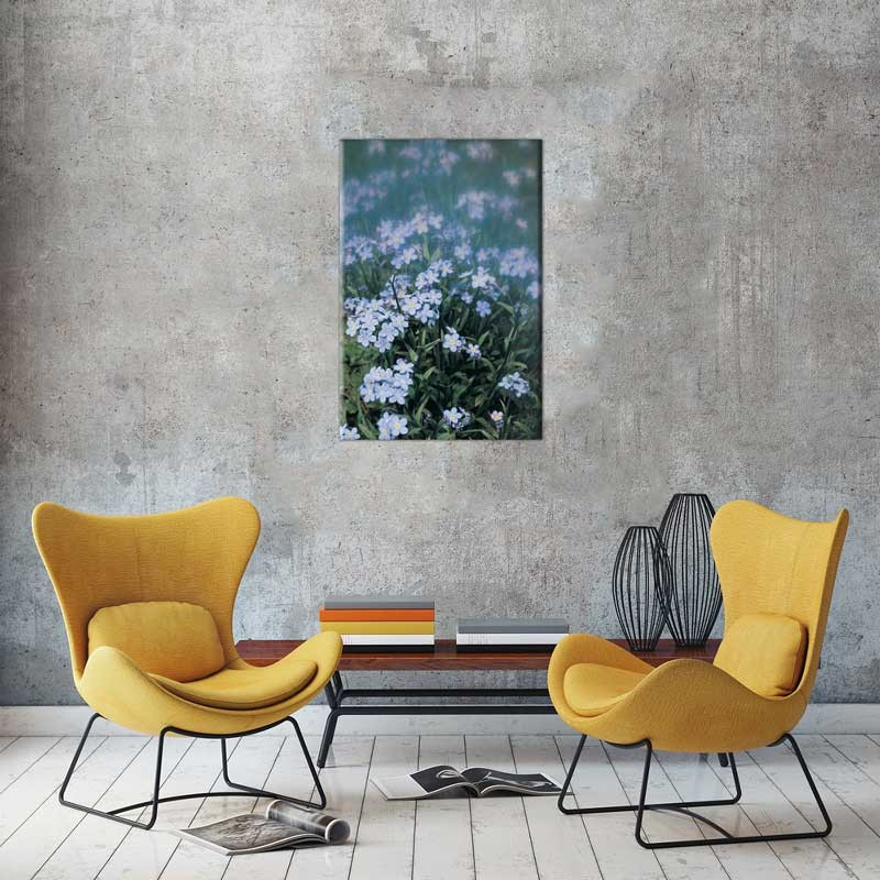 Tablou Flori Albastre