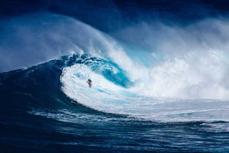 Tablou Surf pe Val