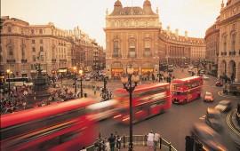 Tablou Londra Autobuze Rosii