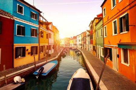 Tablouri peisaje strada ta din Venetia