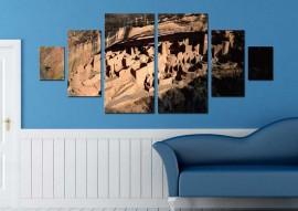 Tablou Multicanvas Parcul National Mesa Verde