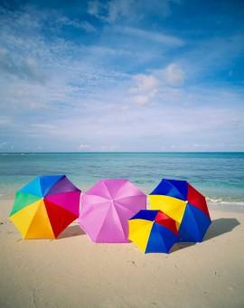 Tablou Umbrele