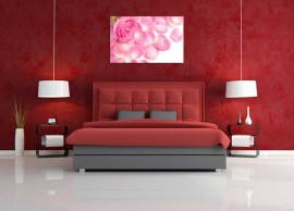 Tablou Trandafir Roz