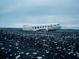 Tablou Epava Avion