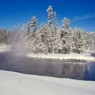 Tablou Multicanvas Peisaj Montan Iarna