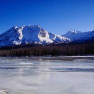 Tablou Peisaj Montan Iarna