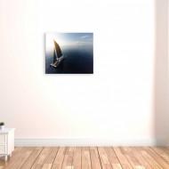 Barca cu panza - tablouri sport