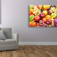 Tablou fructe mere, poama si de toate