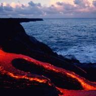 Tablou Lava Vulcanica