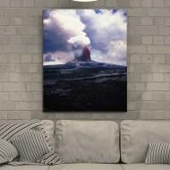 Tablou Eruptie Vulcanica