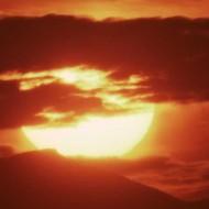 Tablou Multicanvas Soare