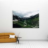 Valea plangerii - tablou natura