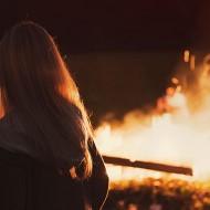 Tablou Foc de Tabara