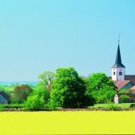 Tablou Multicanvas Sat Biserica
