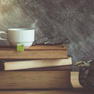 Arta fotografica carti si ceai