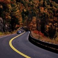 Tablou Drum prin munti