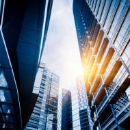 Tablouri arhitectura soarele dintre blocuri