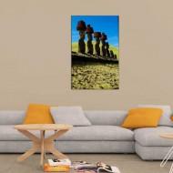 Tablou Statui - Moai