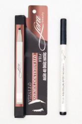 Marker de tatuaj semipermanent pentru sprancene Black by Lora Beauty