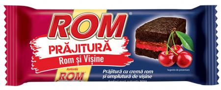 ROM PRAJITURA CREMA ROM SI VISINE 35 GR