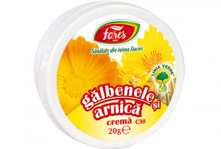 FARES CREMA DE GALBENELE SI ARNICA 20 GR
