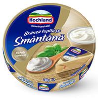 HOCHLAND BRANZA TOPITA TRIUNGHI CU SMANTANA 140 gr