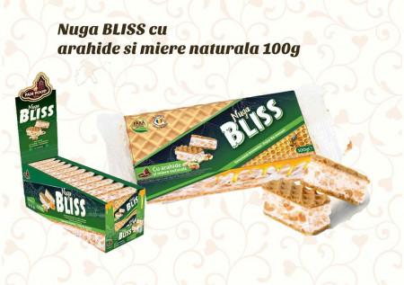 PAN FOOD BLISS NUGA CU ARAHIDE 100GR