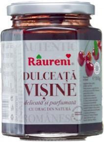 RAURENI DULCEATA DE VISINE 350GR