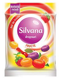 SILVANA DROPSURI FRUCTE 75 GR