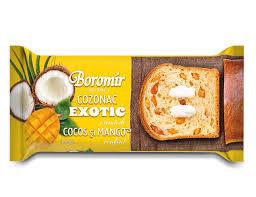 BOROMIR COZONAC EXOTIC COCOS SI MANGO 450GR