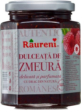 RAURENI DULCEATA DE ZMEURA 350GR