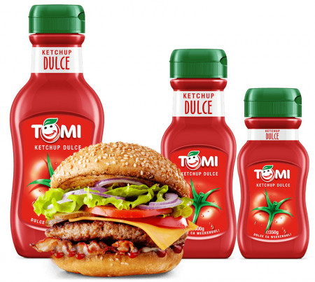 TOMI KETCHUP DULCE 350 GR