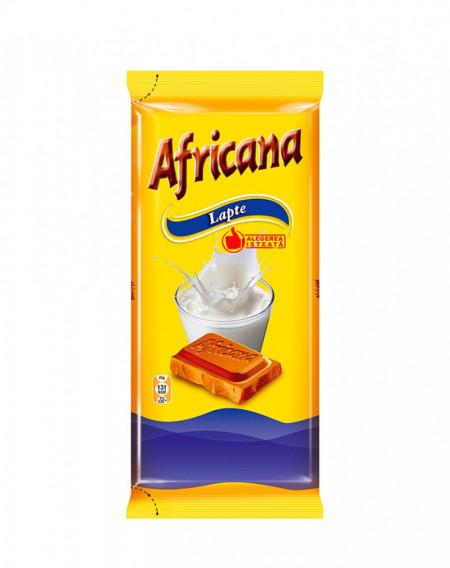 AFRICANA CIOCOLATA CU LAPTE 90GR