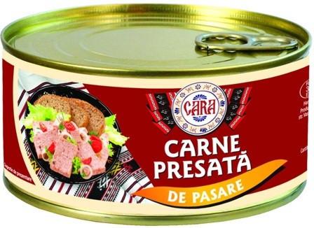 CARA CARNE PRESATA DE PASARE 300 GR