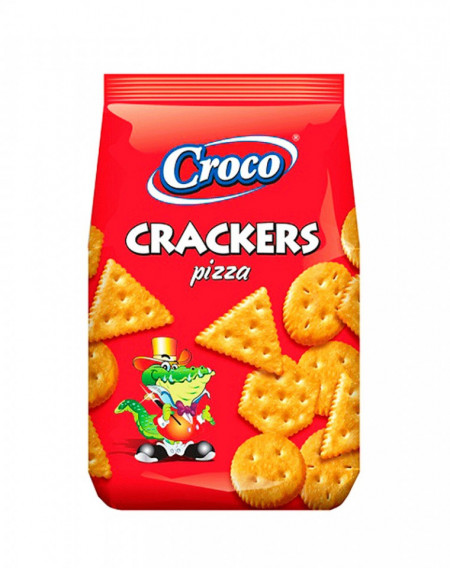 CROCO CRACKERS PIZZA 100 gr