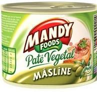 MANDY PATE VEDETAL CU MASLINE 200 gr