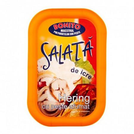 BONITO SALATA DE ICRE HERING CU PESTE AFUMAT 150 GR