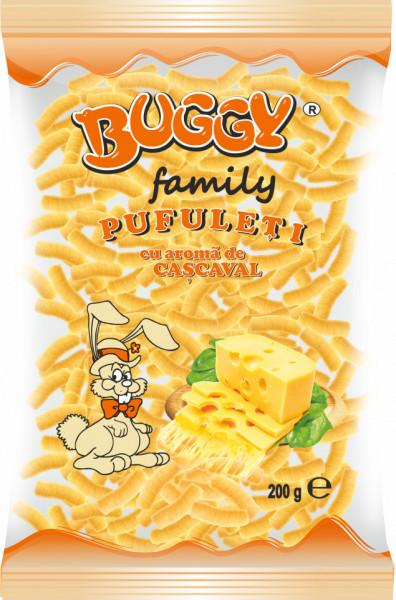 BUGGY PUFULETI FAMILY CU CASCAVAL 200 gr