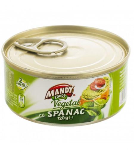 MANDY PATE VEGETAL CU SPANAC 120 gr