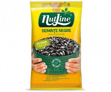 NUTLINE SEMINTE NEGRE CU SARE 100GR