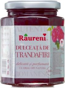 RAURENI DULCEATA DE TRANDAFIRI 350GR